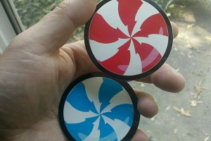Peppermint Stickers