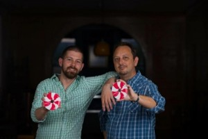 Kendall and Shane of Peppermint LLC